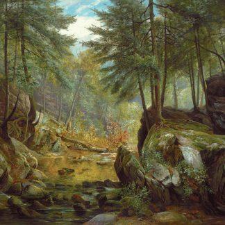 Devil's Pool, Cresheim Creek (Carl Philipp Weber)