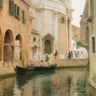 Rio della Maddalena (Julius Stewart)