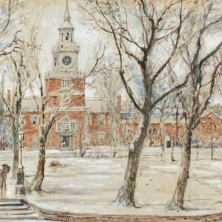 Independence Hall, Philadelphia (Edmund Darch Lewis)
