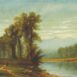 View on the Schuylkill River (William Henry Lippincott)