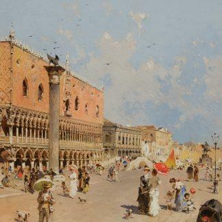 Palazzo San Marco, Venice (Franz Richard Unterberger)