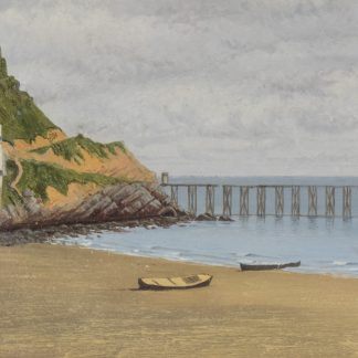 Inlet Cove with Pier (Frank Waller)