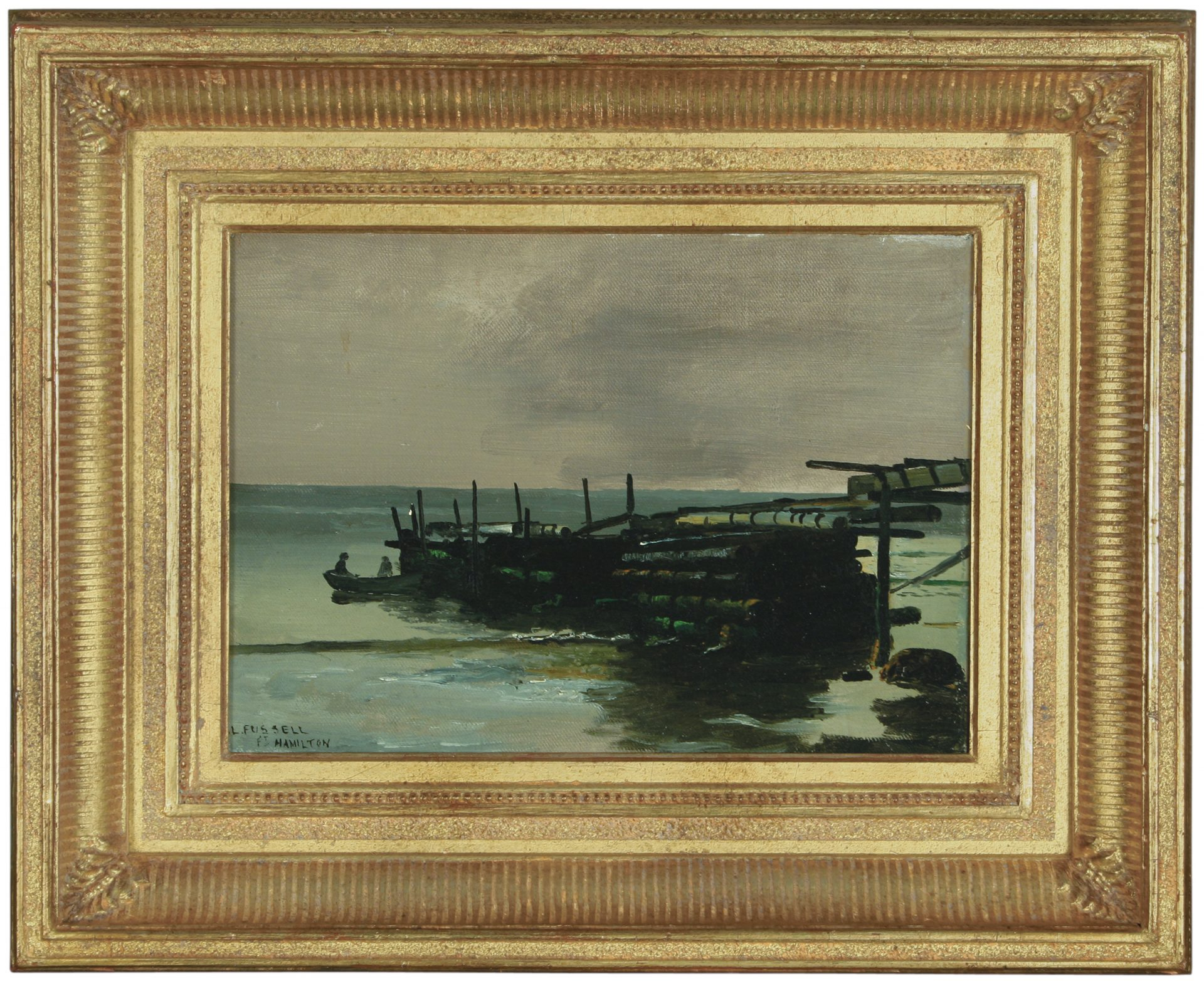 Fort Hamilton, Brooklyn FRAMED (Charles Lewis Fussell)