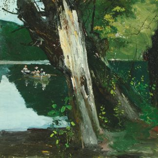 Rowing on a River (Charles Lewis Fussell)
