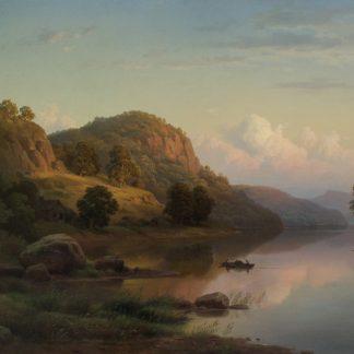 View on the Ohio River (Paul (Gottlieb Daniel Paul) Weber)