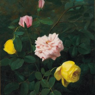 Yellow and Pink Roses (George Cochran Lambdin)