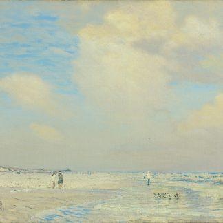 People on the Beach (Richard Blossom Farley)