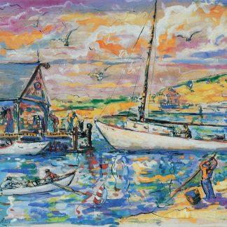 Barnegat Bay, Fishery (Leon Kelly)