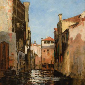 Canal in Venice (Benjamin Ferris Gilman)