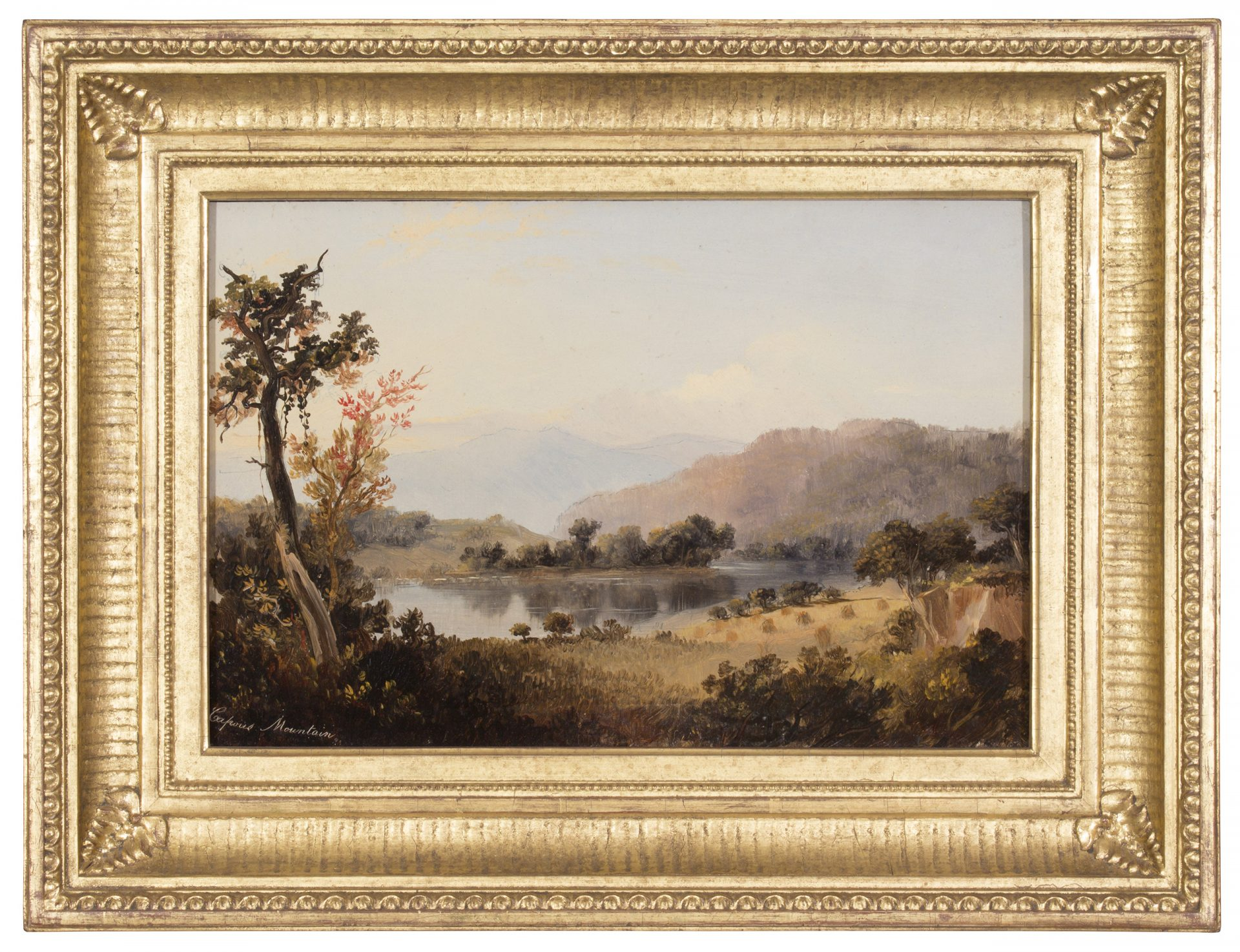 Capous Mountain, Susquehanna River FRAMED (Russell Smith)