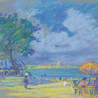 Beach Scene (Edith Lucile Howard)