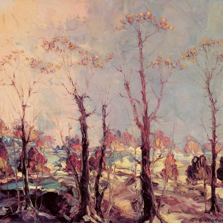 A Winter Morning in New Jersey (Leonid Gechtoff)
