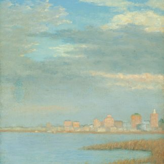 Atlantic City from the Bay (George Harrison Freedley)