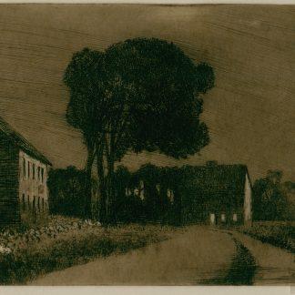 Houses on a Country Road (Robertson Kirtland Mygatt)