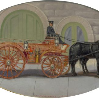 Firemen and Horses (American Unknown)