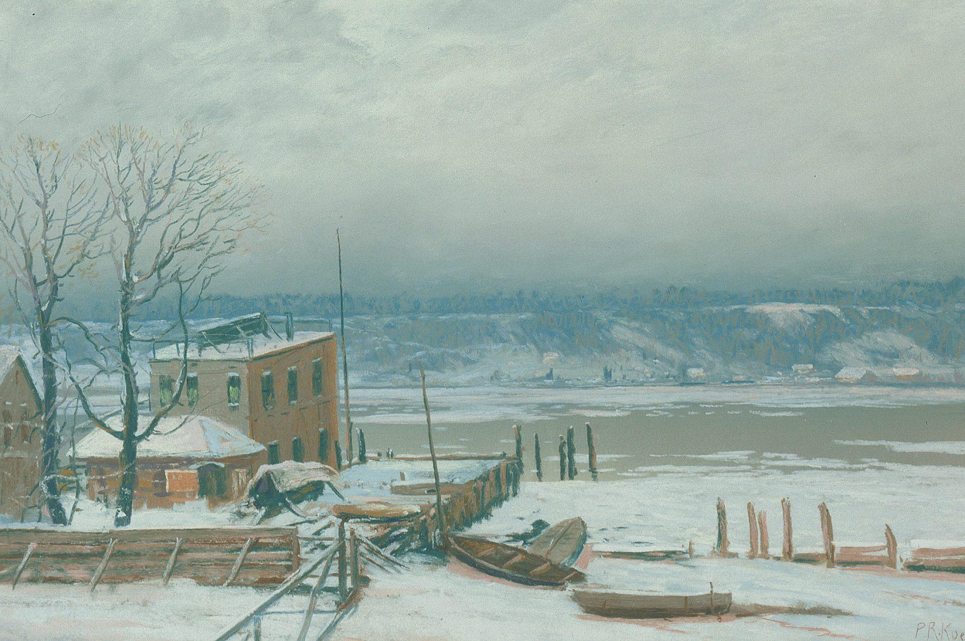 Palisades, New Jersey, Winter (Paul R. Koehler)