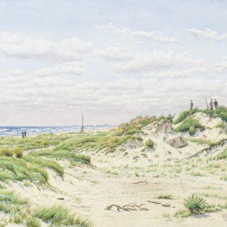 Sandhills near Ventnor-Atlantic City Island (Peter Caledon Cameron)