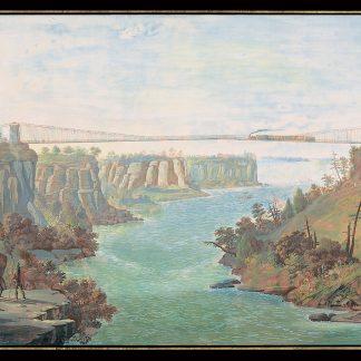 Suspension Bridge over the Niagara (Nicolino Calyo)