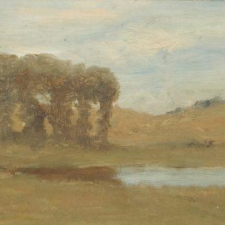 Trees by a Small Pond (Robertson Kirtland Mygatt)