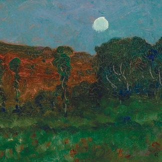Moonlit Woods (Robertson Kirtland Mygatt)