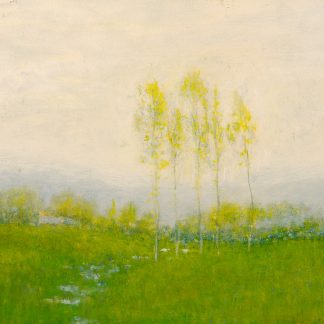 Cottage with Trees in a Field (Robertson Kirtland Mygatt)