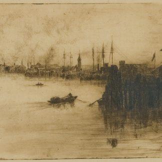 Lobsterman Approaching Dock (Robertson Kirtland Mygatt)