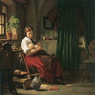 Girl in an Interior (Carl Bertling)