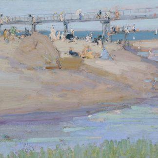 Bass Rocks Beach, Gloucester, Massachusetts (Ernest David Roth)