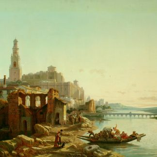 View of Cordova, Spain (Francois-Antoine Bossuet)