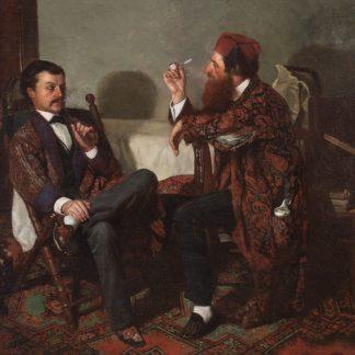 The Artist in His Studio (Thomas Hovenden)