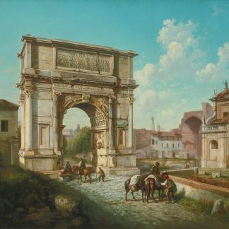 The Arch of Titus, Rome (European Unknown)