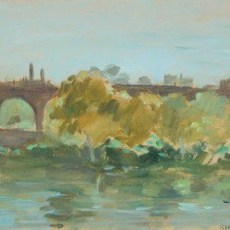 Across The Schuylkill (Seymour Remenick)