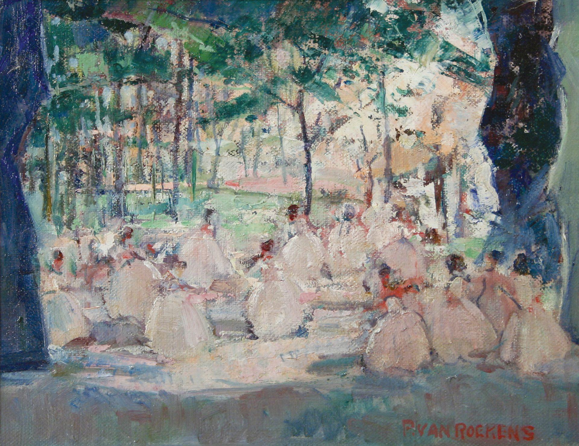 In the Fields (Paulette Van Roekens)
