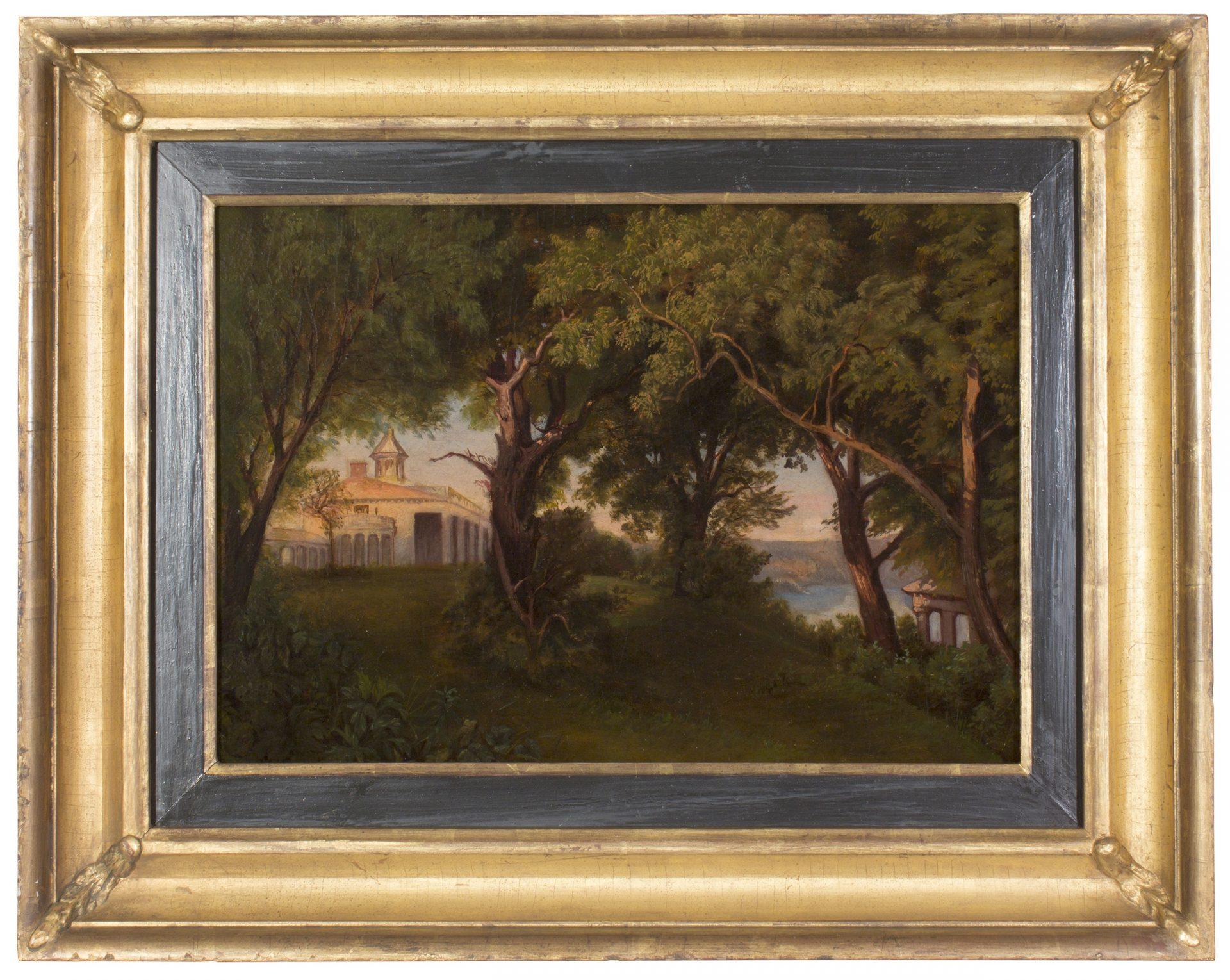 Mount Vernon Estate FRAMED ( Unknown Artist)