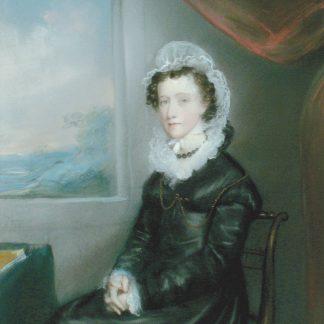 Pendant Portrait of a Woman (Ellen Sharples)