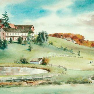 Strunk Family Farm, Stroudsburg, Pennsylvania (Ranulph Bye)