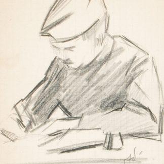 Man Drawing (Julius Thiengen Bloch)