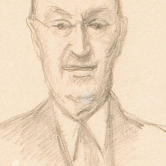 Portrait of a Man (Julius Thiengen Bloch)