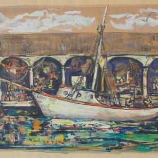 Boat in Harbor (Leon Kelly)