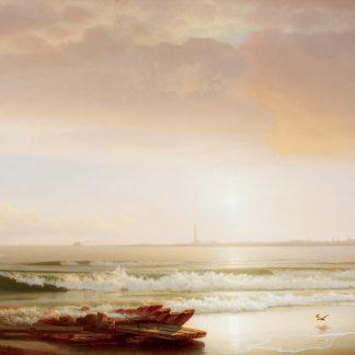 Altantic City from Brigantine Beach (William H. Willcox)