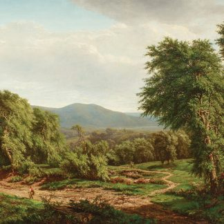 Mountain Landscape with Sheep (William Mason Brown)