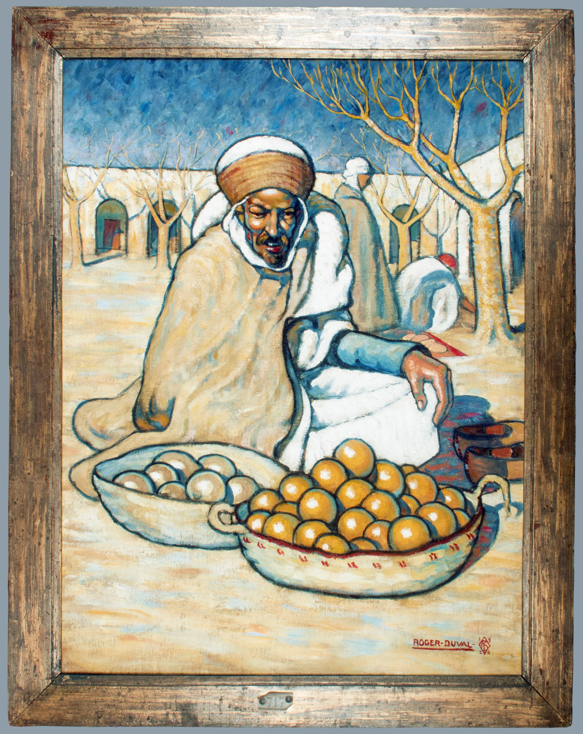 Arab Merchant FRAMED (Roger Georges Andre Duval)