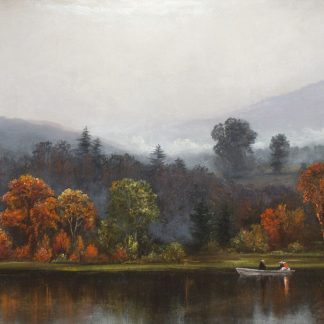 Early Morning in the Delaware Watergap (James Hamilton)