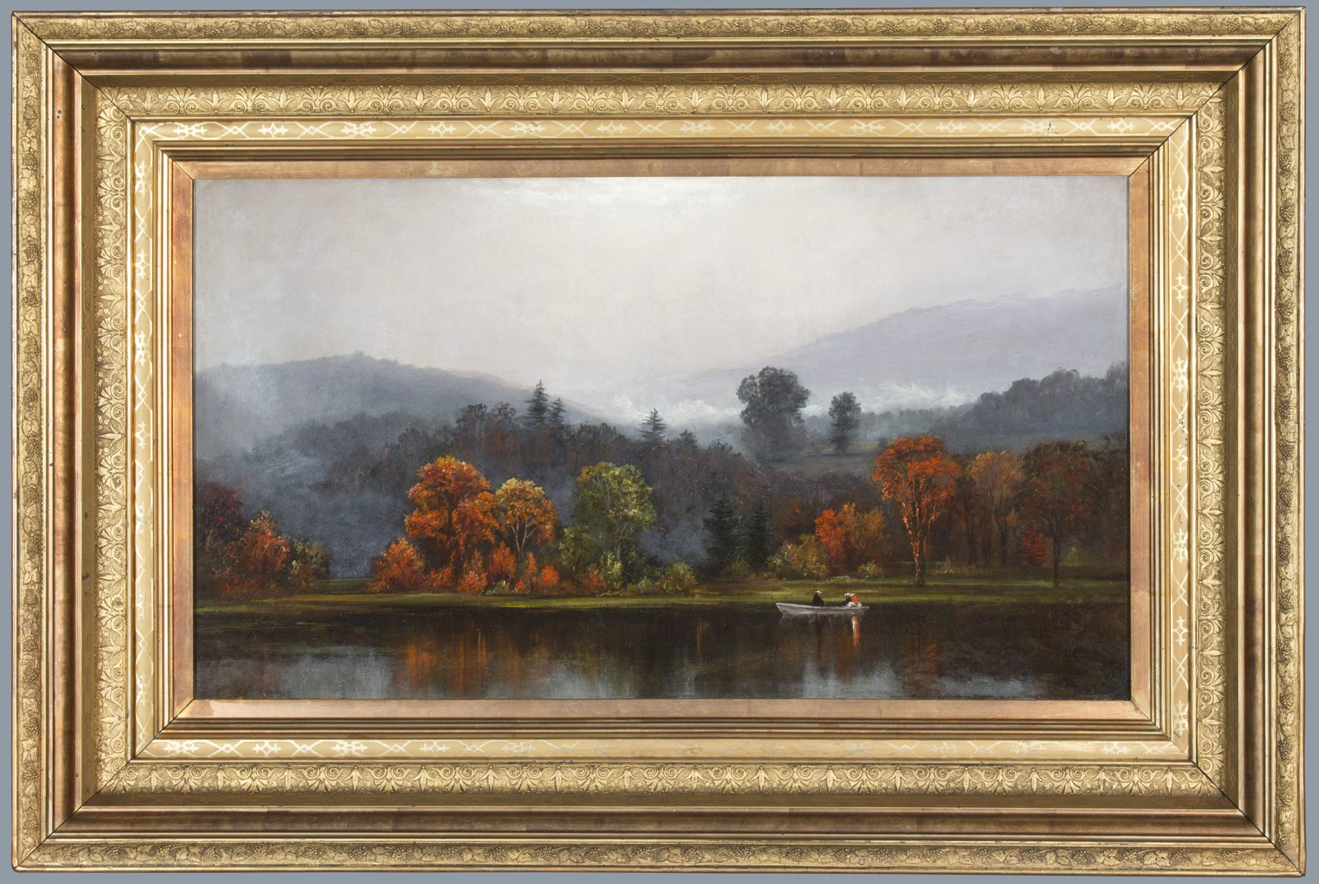 Early Morning in the Delaware Watergap FRAMED (James Hamilton)