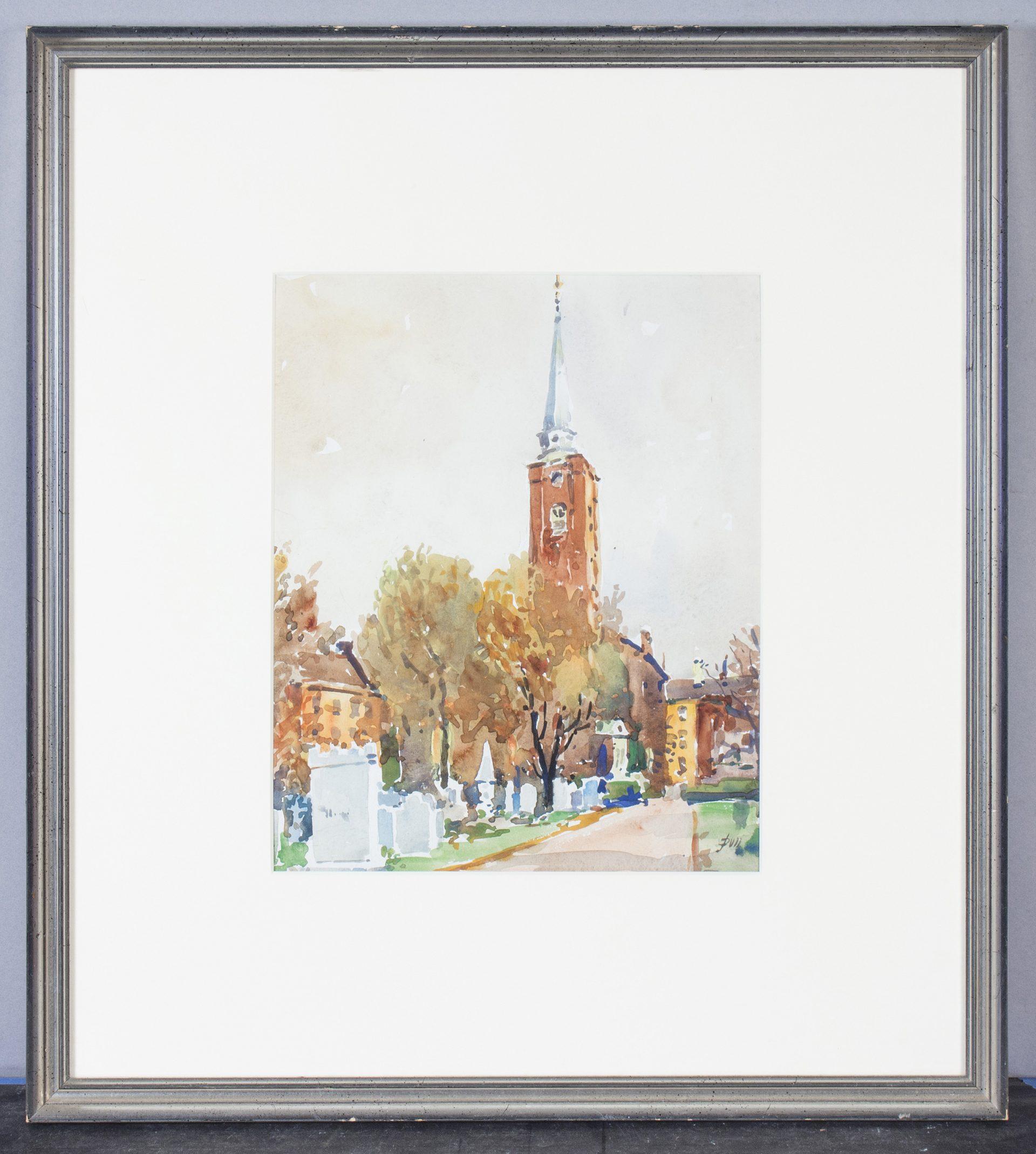 Saint Peter's Church, Philadelphia PA FRAMED (John J. Dull)