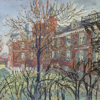 Courtyard at Pennsylvania Hospital (Edythe Ferris)
