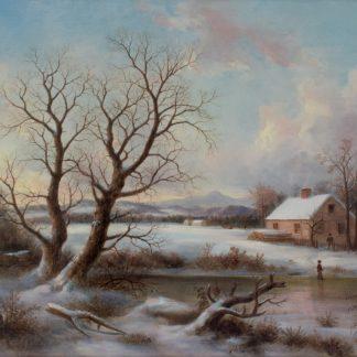 Winter Landscape, Pennsylvania (Thomas Birch)