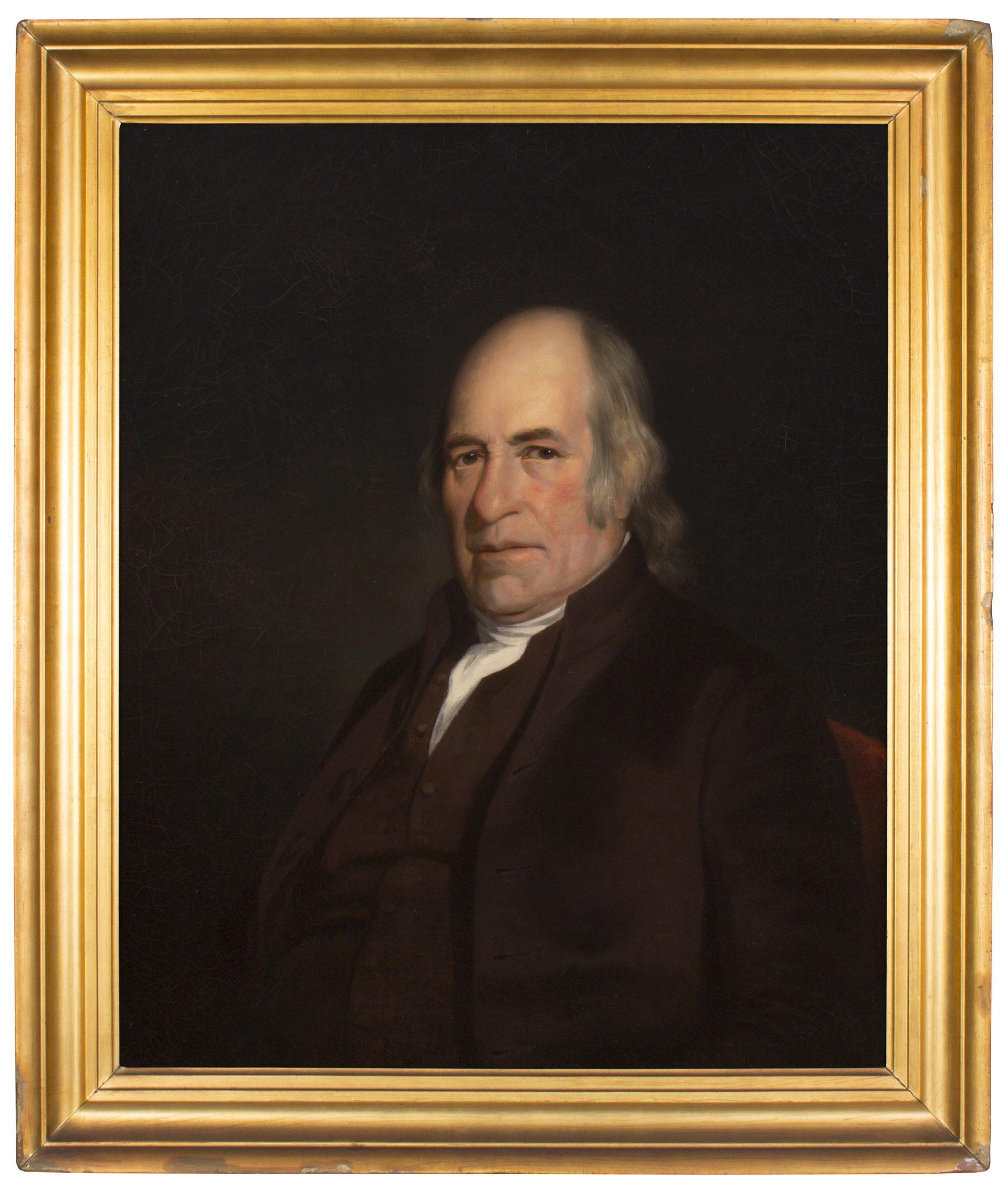 Portrait of John Hall FRAMED (Charles Willson Peale)