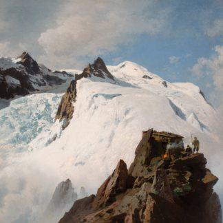 Alpine Mountain Scene (Herman Herzog)