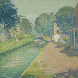 The Lower Lock, New Hope PA (Rae Sloan Bredin)